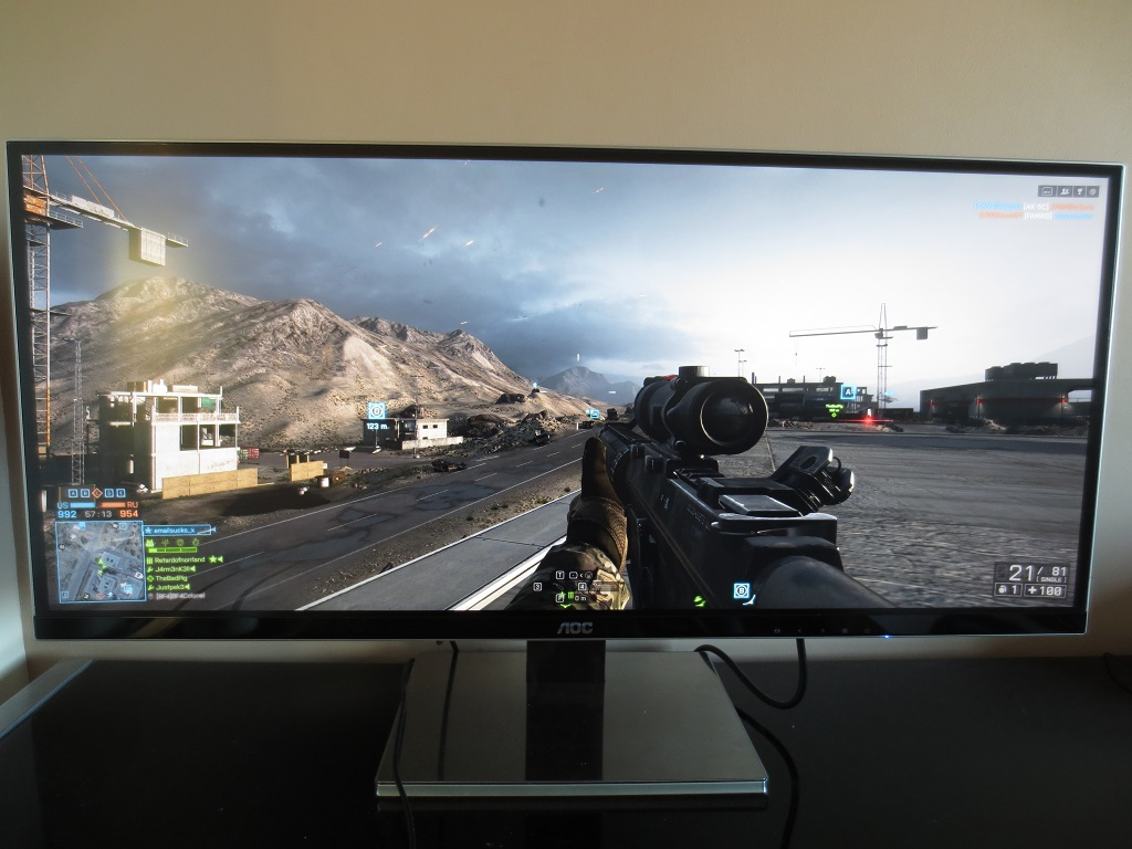 Games, movies and the desktop at 3440 x 1440 | PC Monitors