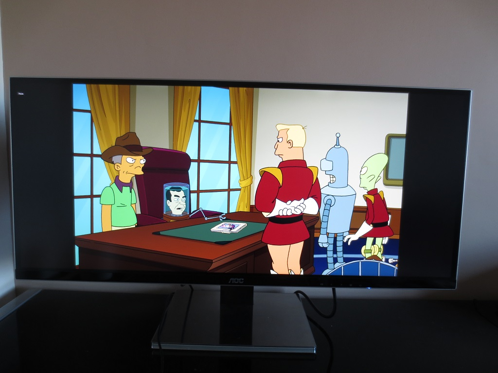 Futurama with aspect ratio maintained