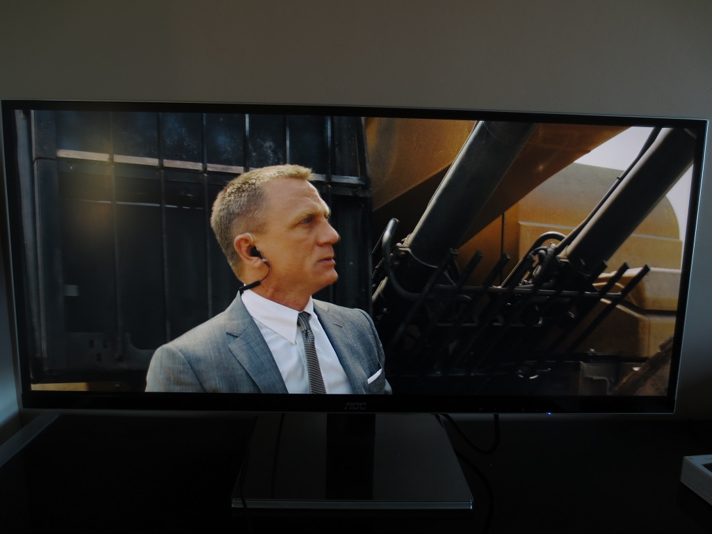 Skyfall filling the screen
