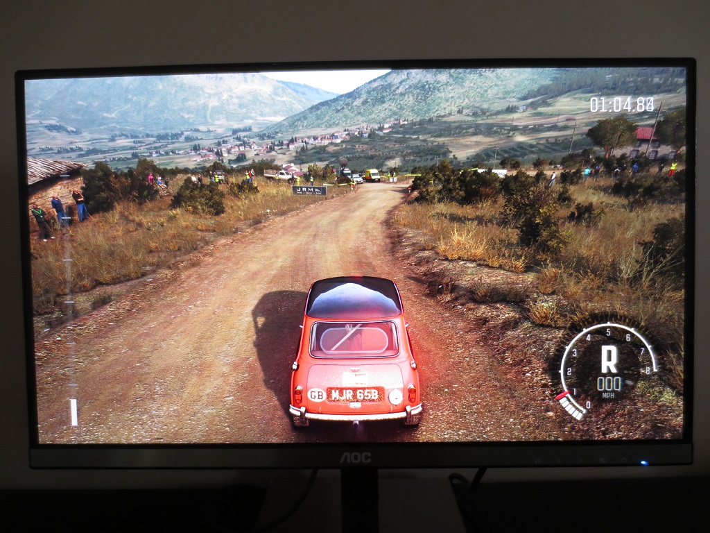 Q25 on Dirt Rally