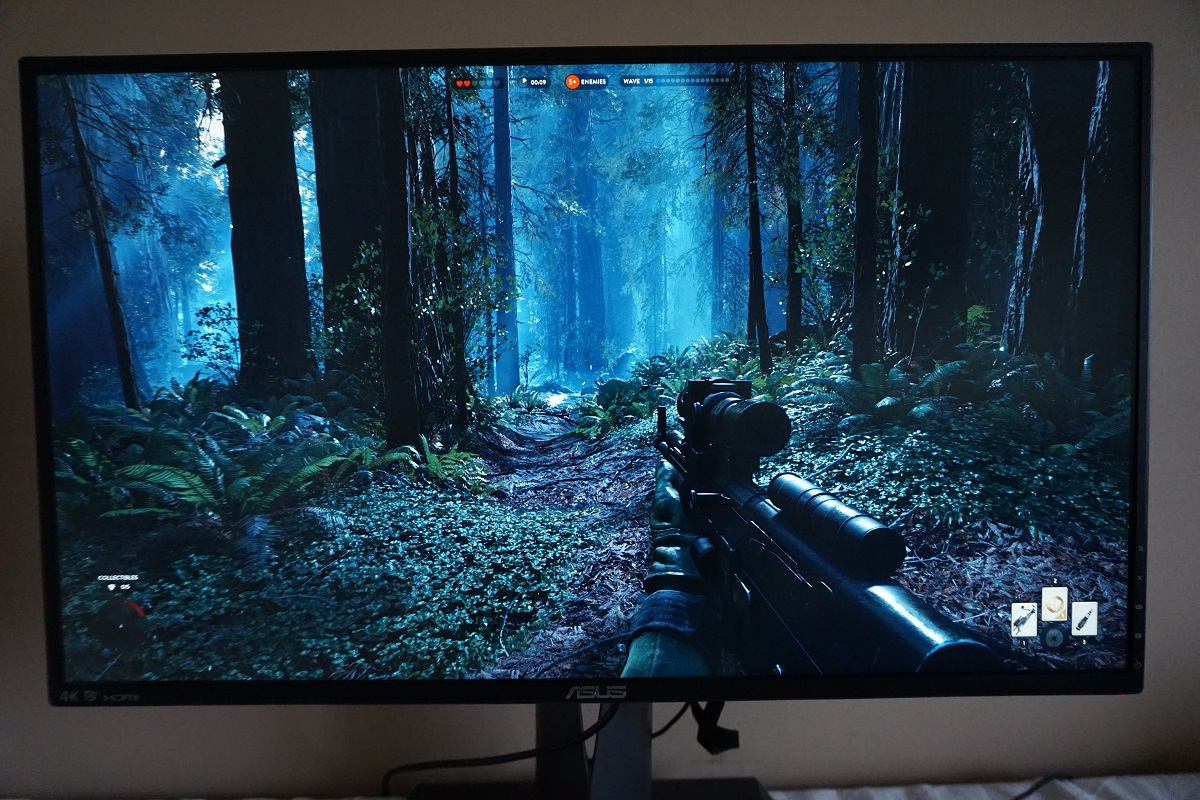 Battlefront in UHD (more Endor)