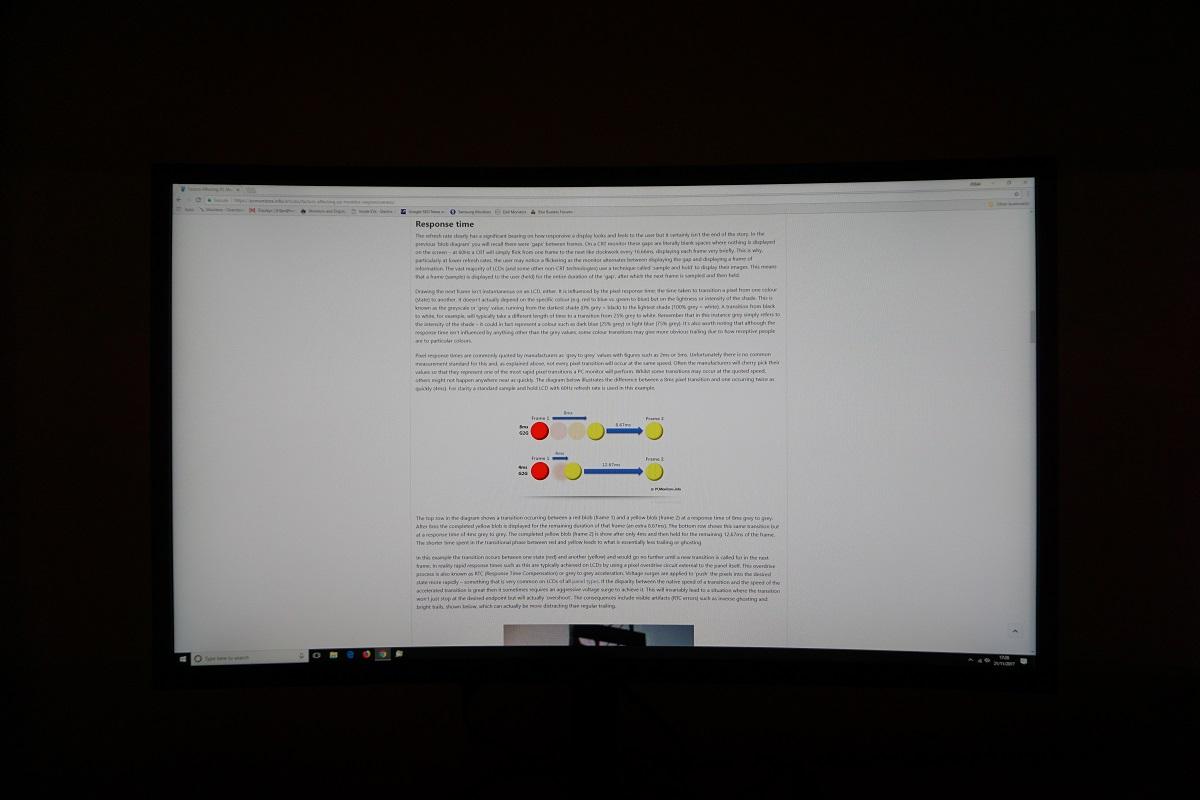 Samsung C27HG70 Review | PC Monitors