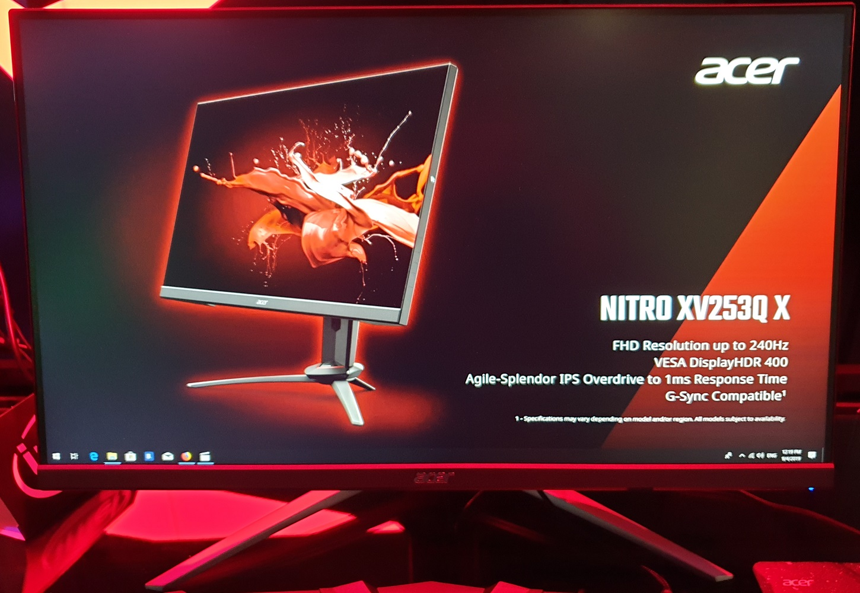 Acer XV253QP 144Hz Full HD IPS model | PC Monitors