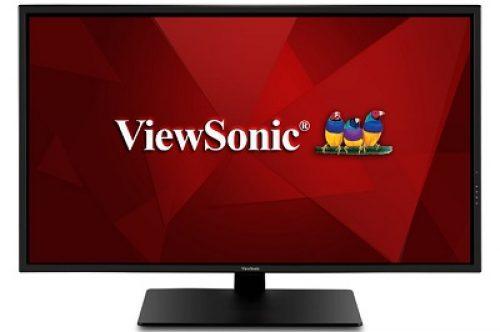 ViewSonic VX4381-4K with glossy 43″ 4K UHD VA panel